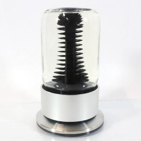 RIZE Spinning Ferrofluid Display // Black