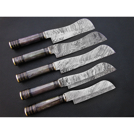 New Black Special Kitchen Knives // Set of 5