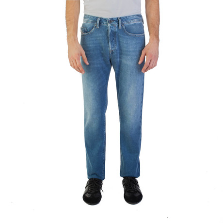 Diesel // Regular Slim-Tapered Fit Buster 084EF Jeans // Blue (US: 30)