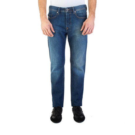 Diesel // Regular Slim-Tapered Fit Buster 0855L Jeans // Dark Blue (US: 30)
