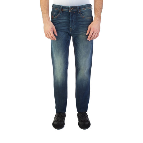 Diesel // Regular Slim-Tapered Buster 0857Y Stretch Jeans // Blue (US: 35)