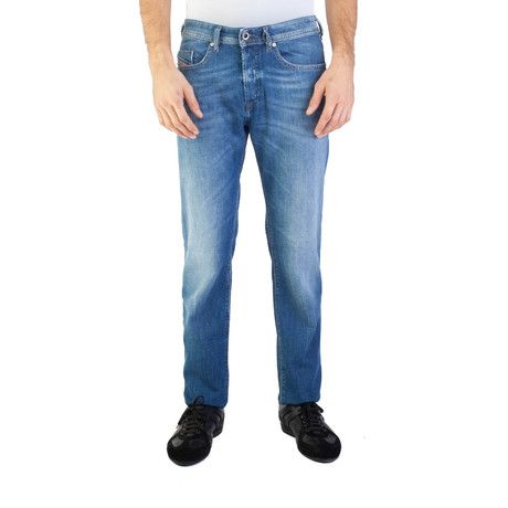 Diesel // Regular Slim-Tapered Fit Buster 0859R Jeans // Light Blue (US: 30)