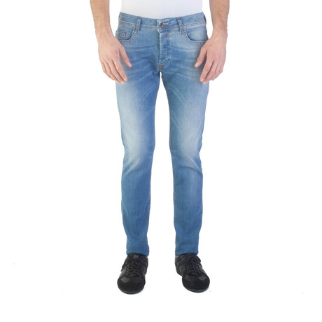 Diesel // Slim-Skinny Fit Sleenker 0852V Jeans // Light Blue (US: 33)
