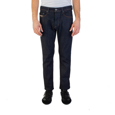Diesel // Slim-Carrot Fit Tepphar R46D8 Stretch Jeans // Dark Blue (US: 30)