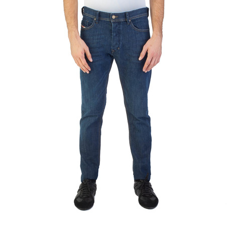 Diesel // Slim Carrot Fit Tepphar 0845B Jeans // Blue (US: 34)