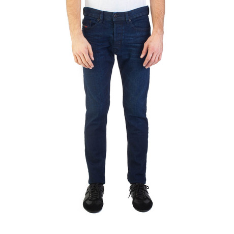 Diesel // Slim Carrot Fit Tepphar 0860Z Stretch Jeans // Dark Blue (US: 30)