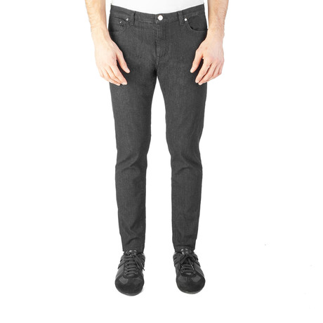 Versace Collection // Skinny Fit Jeans // Black (US: 32)