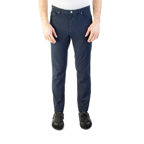 Versace Collection // Sim Fit Jeans // Navy Blue (US: 32)