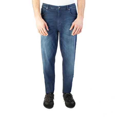 Versace Collection // Baggy Fit Jeans // Blue (US: 32)