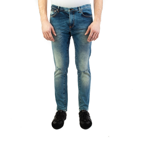 Versace Collection // Skinny Fit Jeans // Blue (US: 32)