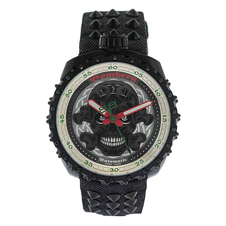 Bomberg Bolt-68 Punk Nails Automatic // BS45APBA.039-3.3 // Store Display