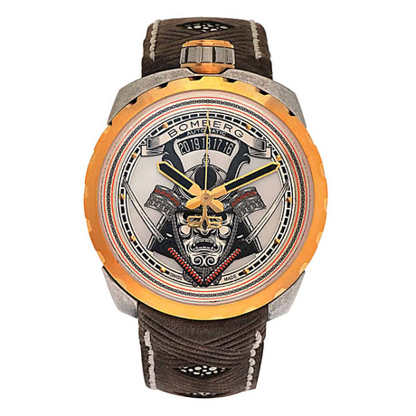 Bomberg Bolt 68 Samurai Automatic // BS45ASPG.042-2.3 // Store Display