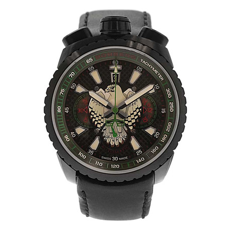 Bomberg Bolt 68 Falcon Chronograph Automatic // BS47CHAPBA.025-3.3 // Store Display