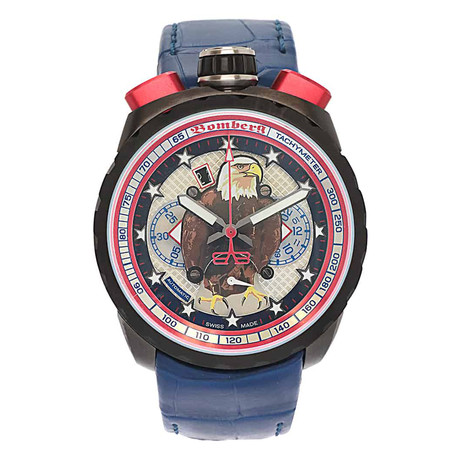 Bomberg Bolt 68 American Eagle Chronograph Automatic // BS47CHAPBA.052.3 // Store Display