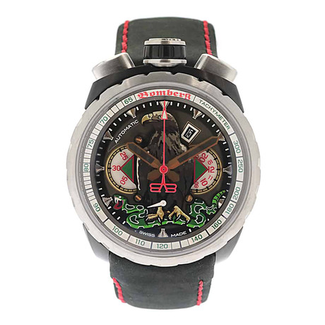 Bomberg Bolt 68 Mexican Eagle Chronograph Automatic // BS47CHASP.046-2.3 // Store Display