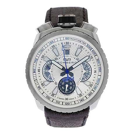 Bomberg Bolt-68 Chronograph Automatic // BS47CHASS.020.3 // Store Display