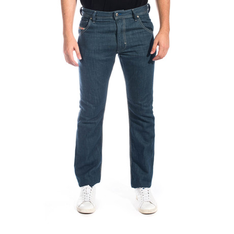 Diesel // Krooley Regular Slim-Carrot Denim Jeans 0810Z // Blue (US: 30)