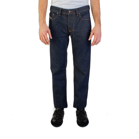 Diesel // Regular-Straight Fit Larkee 008Z8 Jeans // Dark Blue (US: 31)