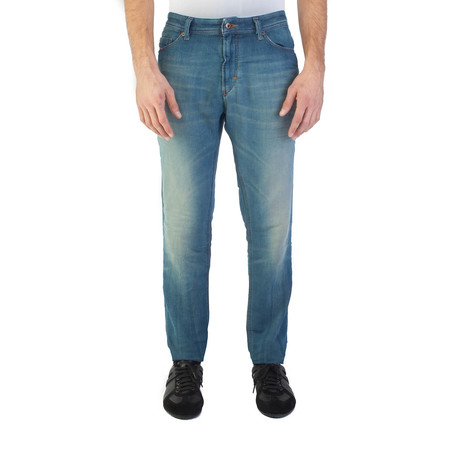 Diesel // Skinny Fit Tepphar Jogg-Jeanss Pants // Light Blue (US: 31)