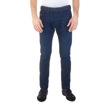 Diesel // Slim Carrot Fit Tepphar 084LC Stretch Jeans // Dark Blue (US: 30)