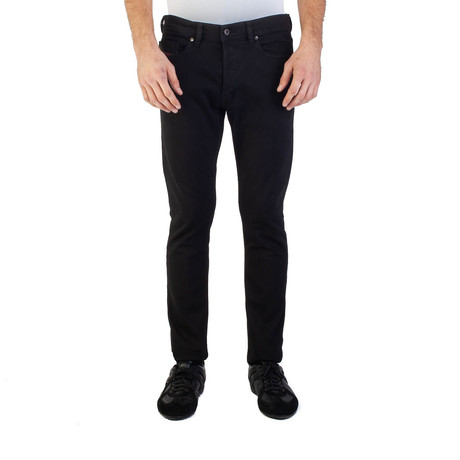 Diesel // Slim-Carrot Fit Tepphar RDS05 Stretch Jeans // Black (US: 30)