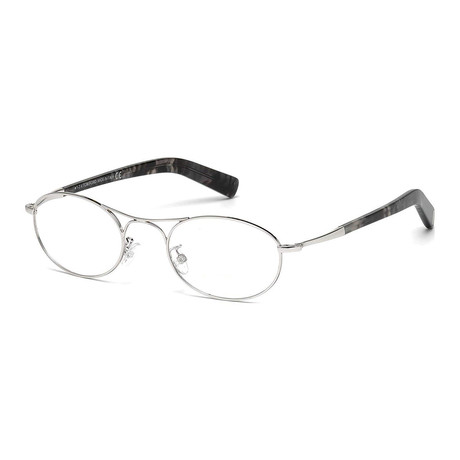 Tom Ford // Men's Optical Frames // Silver + Black