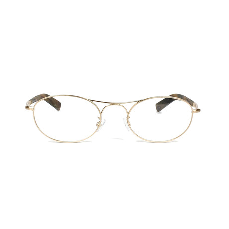 George Optical Frames // Gold Havana
