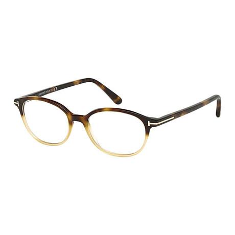 Tom Ford // FT5391 Eyeglass Frames // Honey Havana