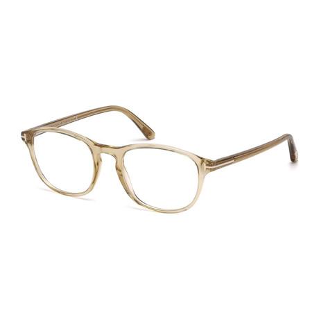 Tom Ford // FT5427 Eyeglass Frames // Beige Crystal