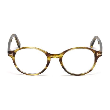 Men's FT5428 Eyeglass Frames // Shiny Yellow