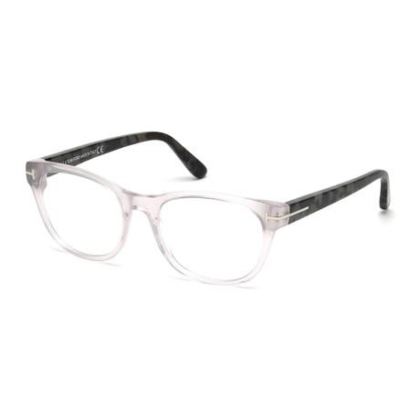 Tom Ford // FT5433 Eyeglass Frames // Clear Gray