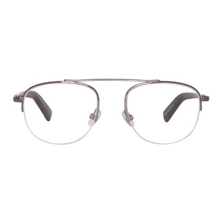 Neville Optical Frames // Gunmetal Havana