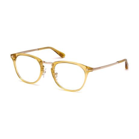 Tom Ford // FT5466 Eyeglass Frames // Yellow