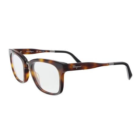 Ferragamo // Men's SF2787 Optical Frames // Tortoise + Black
