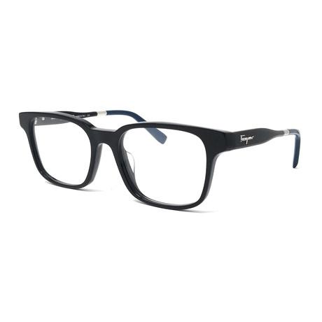 Ferragamo // Men's SF2787 Optical Frames // Blue Havana