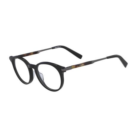 Ferragamo // SF2802 Eyeglass Frames // Crystal Khaki