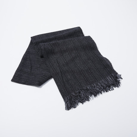 Ticking Stripe Scarf (Char)
