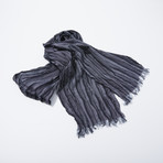 Stripe Scarf (Black)