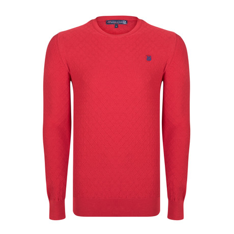 Rayan Pullover // Red (S)
