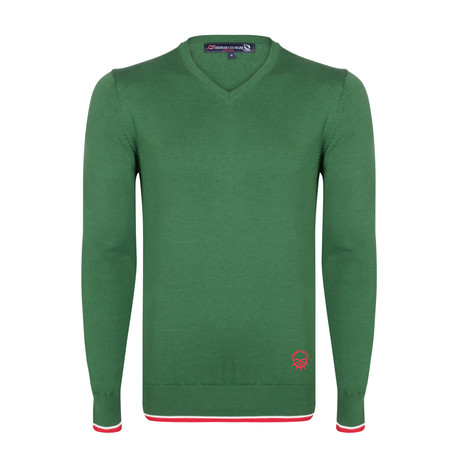 Ishaan Pullover // Green (S)