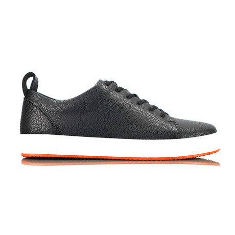Livoe Sneakers // Black + White Sole (Euro: 40)