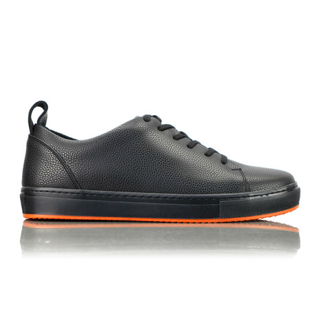 Livoe Sneakers // Black + Black Sole (Euro: 40)