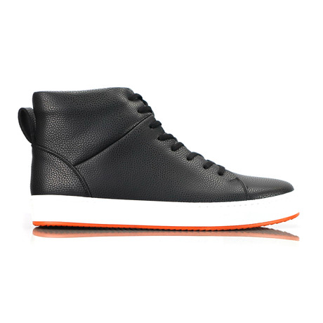 Livoe High Top Sneakers // Black (Euro: 40)