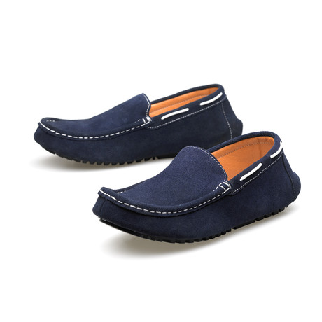 Loafer // Navy (Euro: 40)
