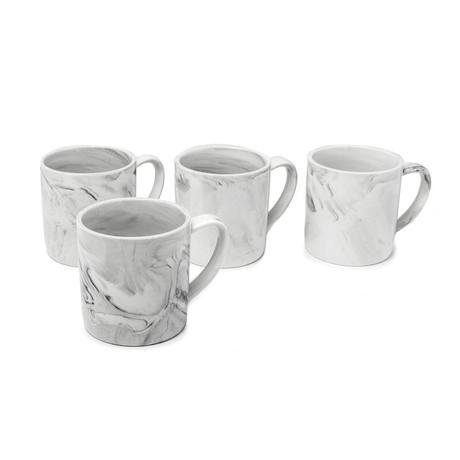 10oz. Large Mug // Set Of 4 (Marble)