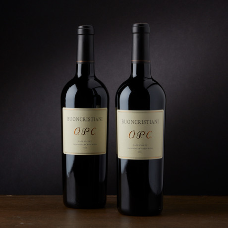 93 Point Buoncristiani O.P.C. Napa Valley Proprietary Red // 2 Bottles