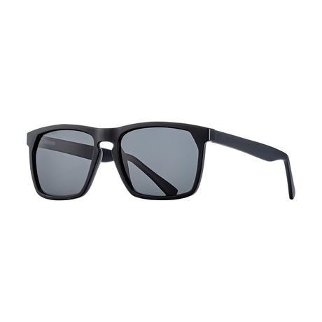 Men's Randall Polarized Sunglasses (Black Onyx + Smoke)