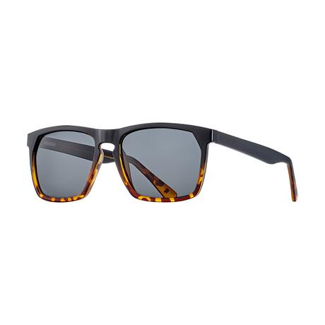 Randall Polarized Sunglasses // Black Onyx + Smoke