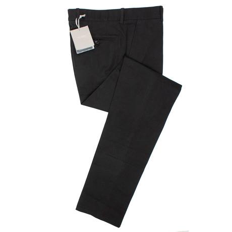 Cotton Blend Dress Pants // Black (44)