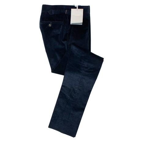Tom Ford // Cotton Blend Corduroy Pants // Blue (44)